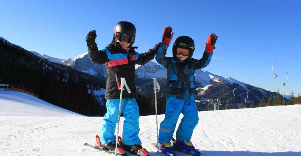 Skifahren Kinder Hotel Platzer